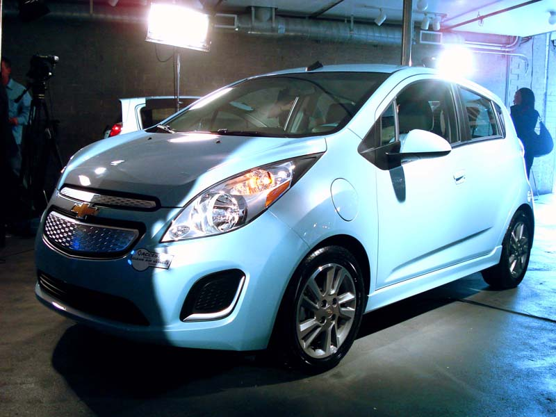 2014 chevy spark ev at la auto show chevy spark ev forum. Black Bedroom Furniture Sets. Home Design Ideas